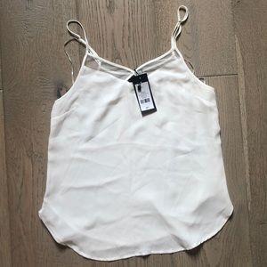 White dressy tank top